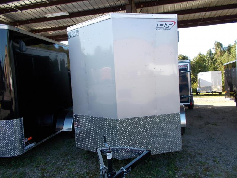 "2020 Bravo Trailers 6x10 SC SA 6""X 18""V APP SILVER Enclosed Cargo Trailer"