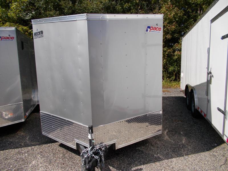 2021 Pace American 7X14 OBDLX TE2 30VS RAMP SVNT SILVER Enclosed Cargo Trailer