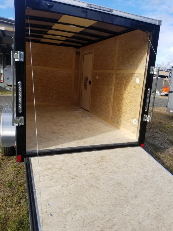"2020 Bravo Trailers 7X1 SC TA2 6""X RAMP SC+ BLACK Enclosed Cargo Trailer"