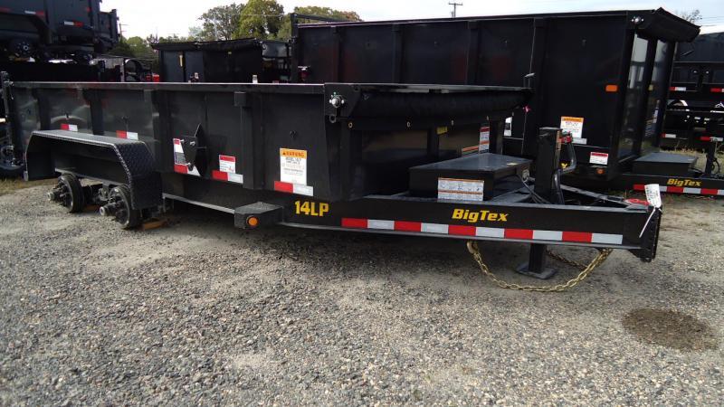 2020 Big Tex Trailers DT 7X14 14LP 14BK6SIRPD BLACK Dump Trailer