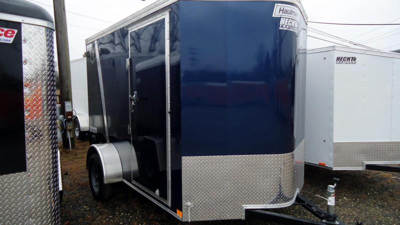 2020 Haulmark 6X10 TSV S2 RAMP BLUE & BLACK Enclosed Cargo Trailer