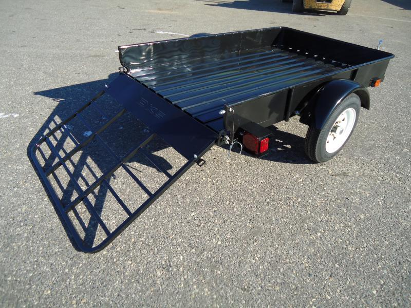 2017 DetailK2 UT 4X6 MMT BLACK Utility Trailer