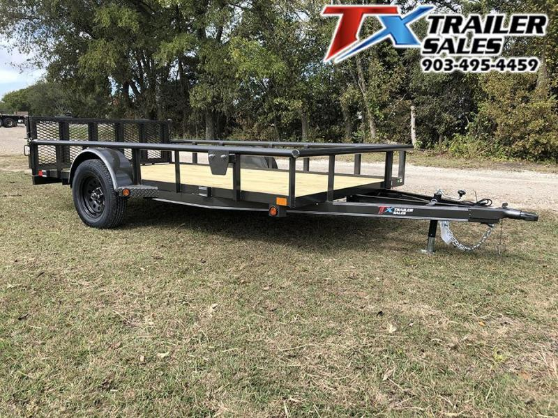 2020 East 77 X 12 SINGLE AXLE 3K Utility Trailer