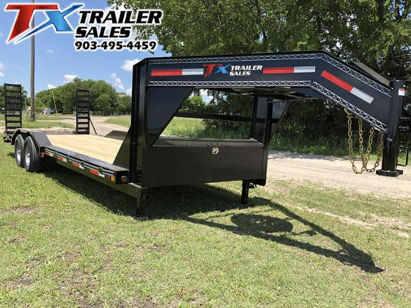 2020 East Texas 102 X 24 GOOSENECK LOW BOY EQUIPMENT 14K Equipment Trailer
