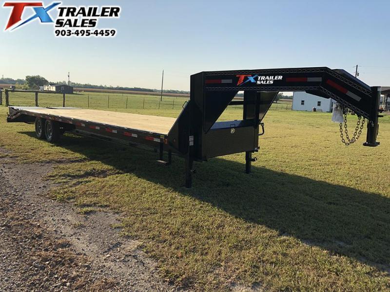 "2020 East Texas 102"" X 32' GOOSENECK HD DECK OVER 16K Flatbed Trailer"