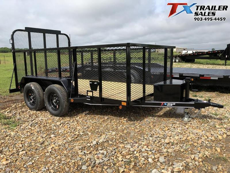 2020 East Texas 77 X 12 LANDSCAPE 7K Utility Trailer