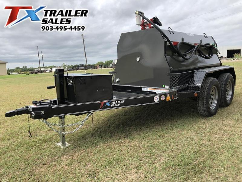 2020 East Texas 5 X 8 DIESEL TANK TRAILER WITH 600 GAL TANK 7K Tank Trailer