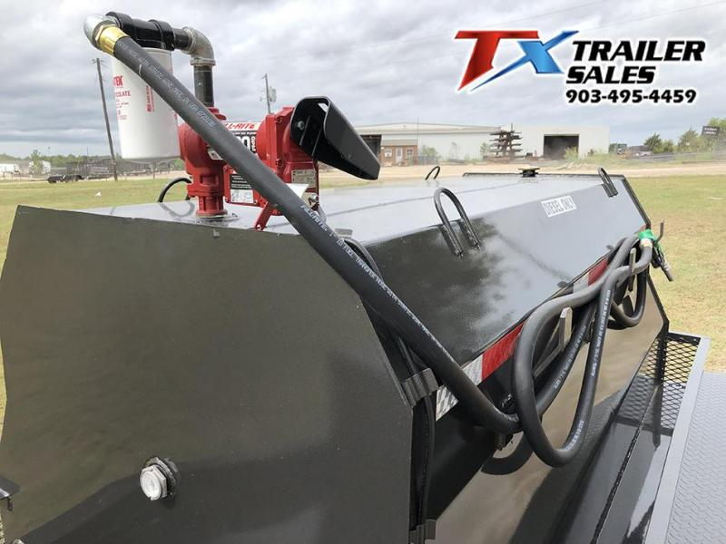 2020 East Texas 5 X 8 DIESEL TANK TRAILER WITH 600 GAL TANK 7K Tank Trailer