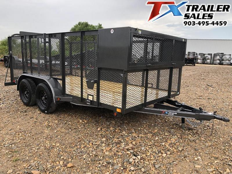 "2020 East Texas 83"" X 14' LANDSCAPE 7K Utility Trailer"