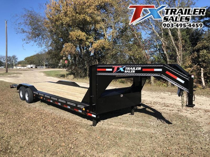 "2020 East Texas 102"" X 28' GN LOW BOY EQUIPMENT 14K Equipment Trailer"