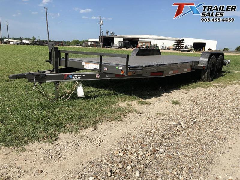 "2020 East Texas 83"" X 22' CAR HAULER/EQUIPMENT 12K Car / Racing Trailer"