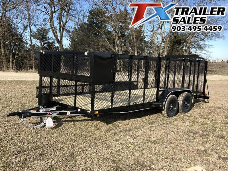 "2020 East Texas 83"" X 16' LANDSCAPE 7K Utility Trailer"