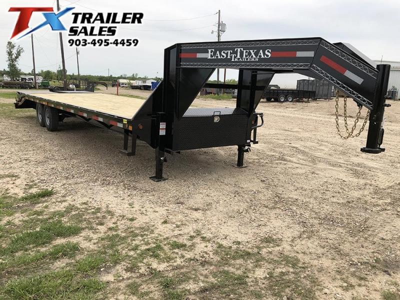 2020 East Texas 102 X 30 GN HD DECK OVER 16K Flatbed Trailer
