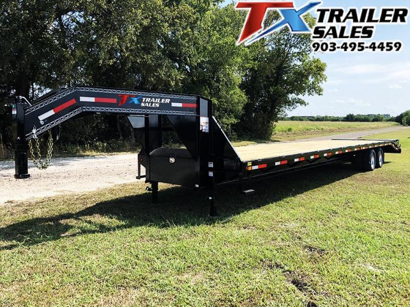 2020 East Texas 102'' X 40' GOOSENECK DECK OVER/HOT SHOT / Flatbed Trailer