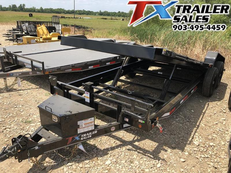 "2020 East Texas 83"" X 20' TILT DECK 14K Car Hualer / Equipment Hualer"