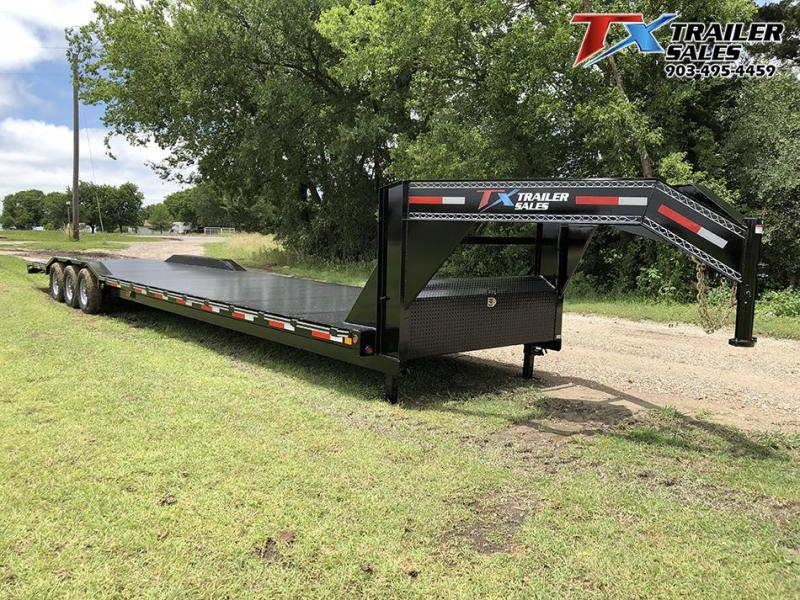 "2020 East Texas 102"" X 40' GN LOW BOY CARHAULER/EQUIPMENT 21K Equipment Trailer"