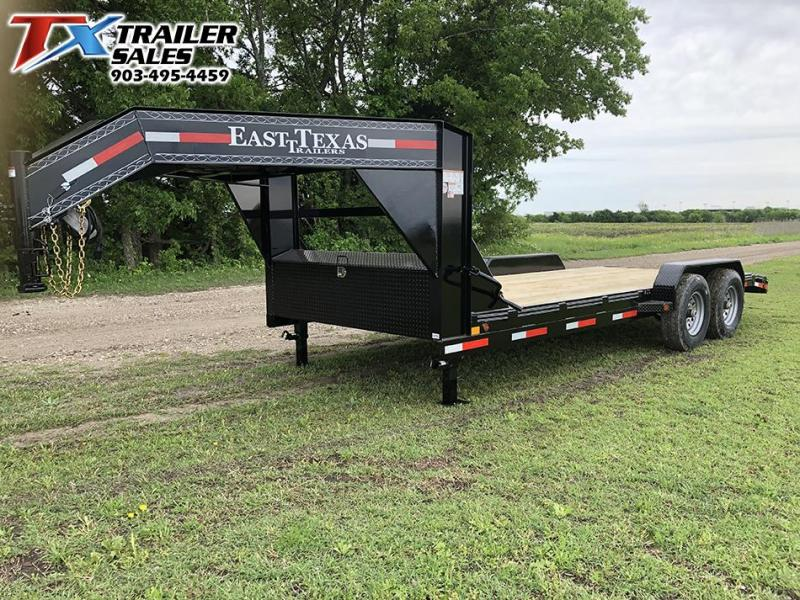 2019 East Texas 83 X 20 GN LOW BOY EQUIPMENT 14K Car / Racing Trailer