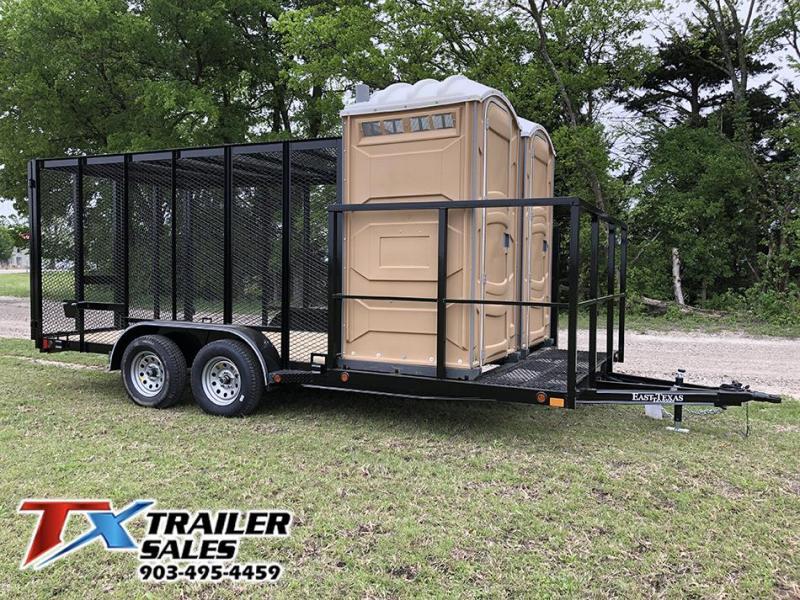 2020 East Texas 83 X 18 TRASH TRAILER 7K