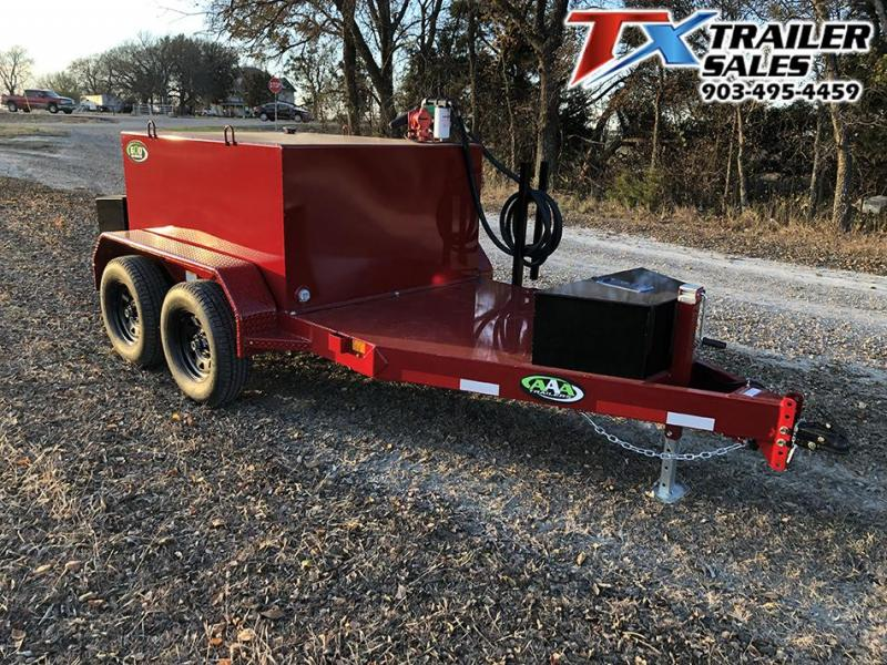 2020 East Texas 60 x 10 600 Gal Fuel Tank Trailer