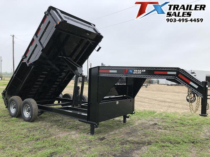 2020 East Texas 83 X 14 GOOSENECK LOW PRO DUMP 14K (7.1 CU. YARD) Dump Trailer