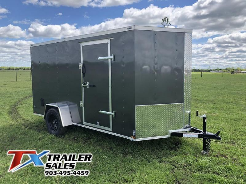 2020 Lark 6' X 12' SA 3K Enclosed Cargo Trailer