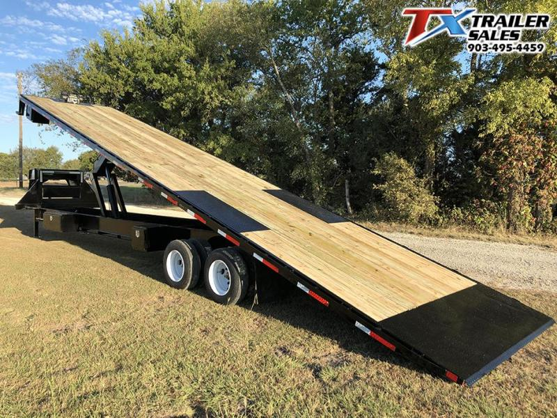 2020 East Texas 102 X 35 GN DECK OVER TILT 30K Flatbed Trailer
