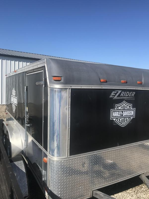 2005 Homesteader 7x14 Low Hauler Enclosed Cargo Trailer