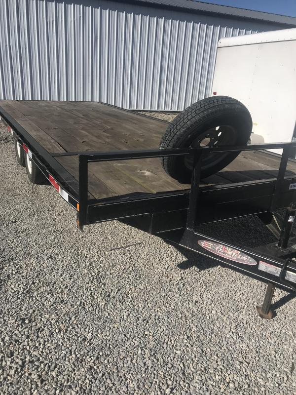 2007 Trailer 85X20 DECKOVER Flatbed Trailer