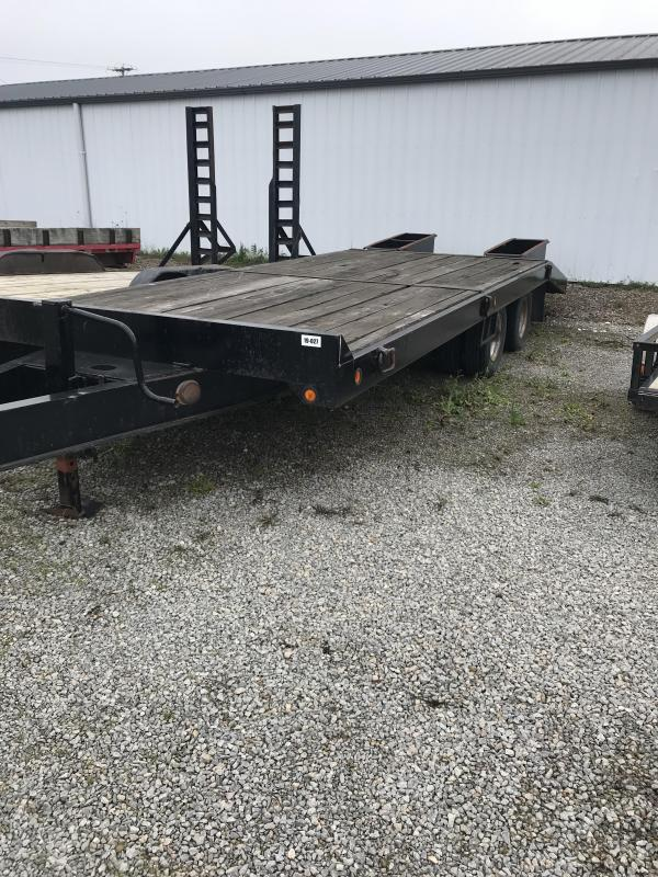 1997 Towmaster Trailers Pintle 85x204 Equipment Trailer