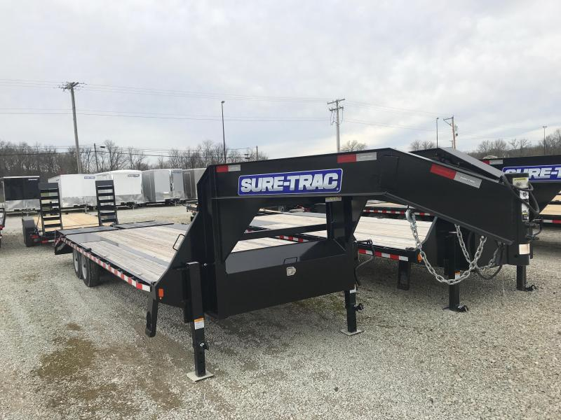2019 Sure-Trac ST102205LPD02A-GN-176 Flatbed Trailer