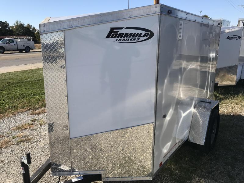 2019 Formula Trailers 5x8 Enclosed Enclosed Cargo Trailer