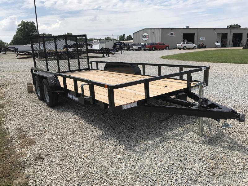 2016 Sure-Trac 7 X 16 Tube Top Utility  7K Tandem