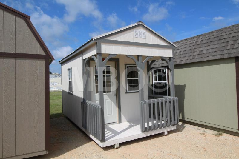 8X16 UTILITY CABIN PLAYHOUSE