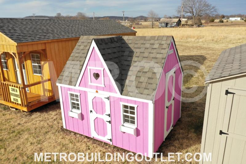 8X10X5 VICTORIAN PLAYHOUSE
