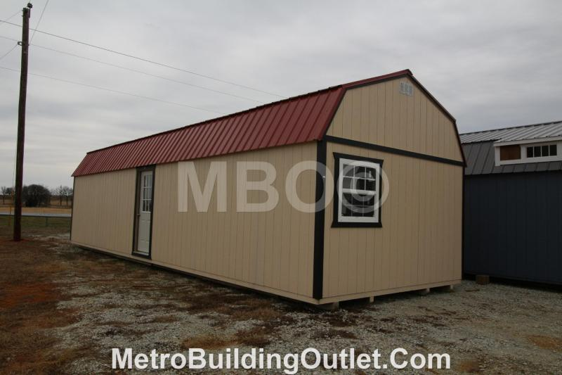 14x40 LOFTED BARN CABIN