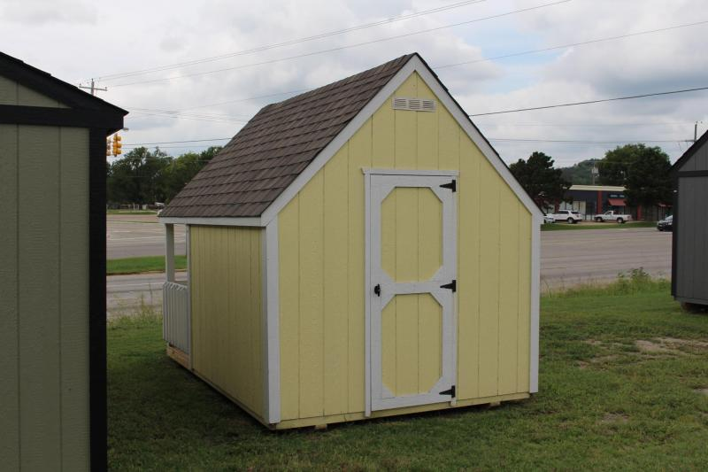 8x12x5 Hideout Playhouse