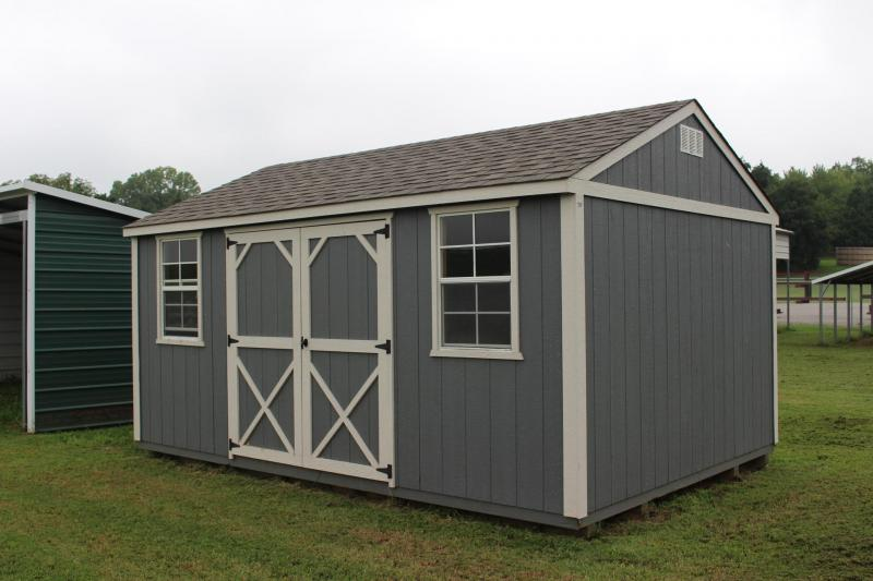 12x16 UTILITY BUILDING | Garages, Barns, Portable Storage ...