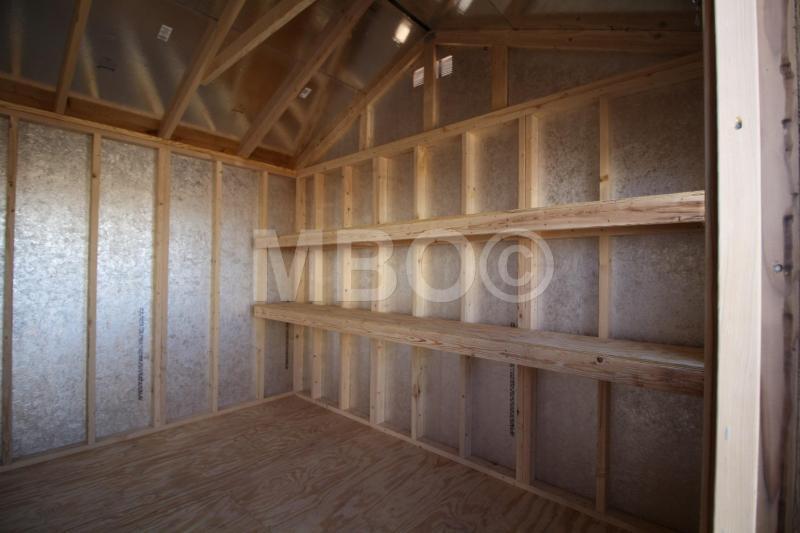 12X16 UTILITY STORAGE BUILDING