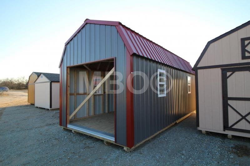 12x24 LOFTED PORTABLE GARAGE