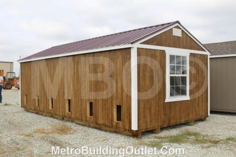 12X24 UTILITY BUILDING