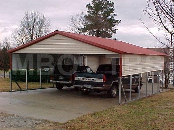26X25X8 Carport #CP02