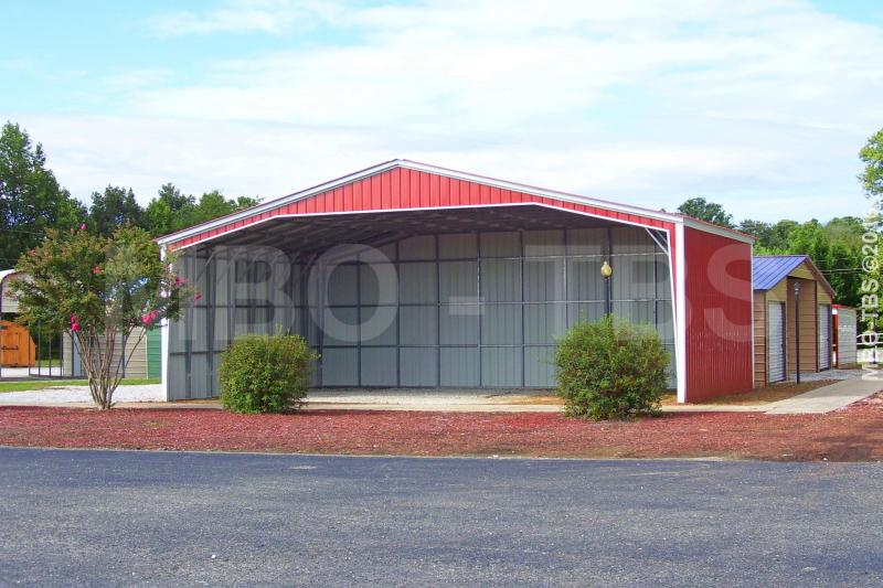 50X40X16 Vertical Roof Carport #CP015