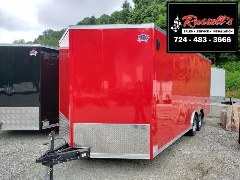 2020 US Cargo 8.5x20 6'' Extra Height Enclosed Cargo Trailer