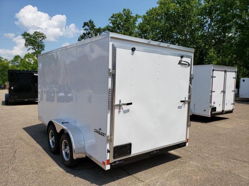 2020 Formula Conquest 7x14 6'' Extra Height Enclosed Cargo Trailer