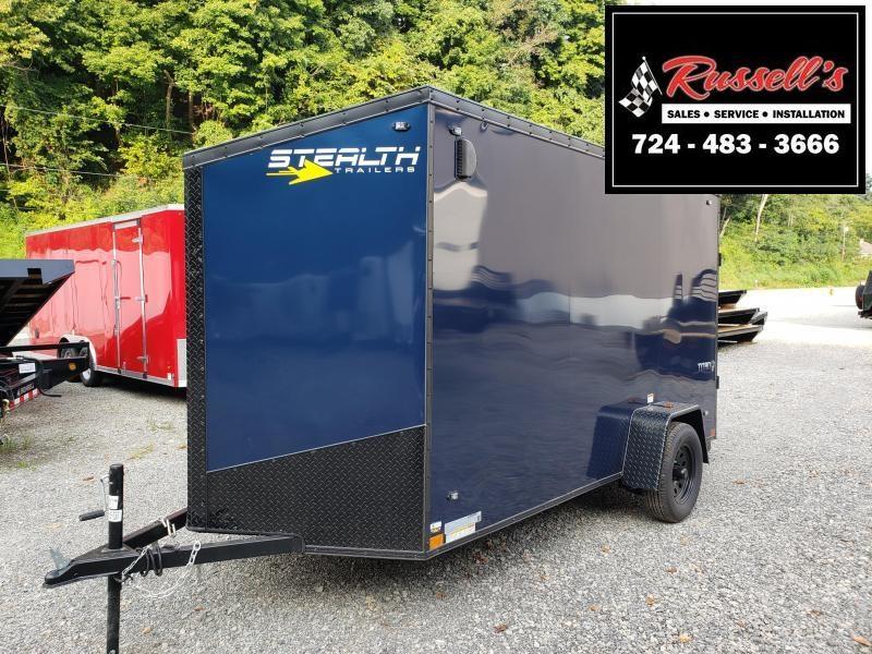 2020 Stealth Trailers Titan 6x12 Ramp Door 6'' Extra Height Enclosed Cargo Trailer