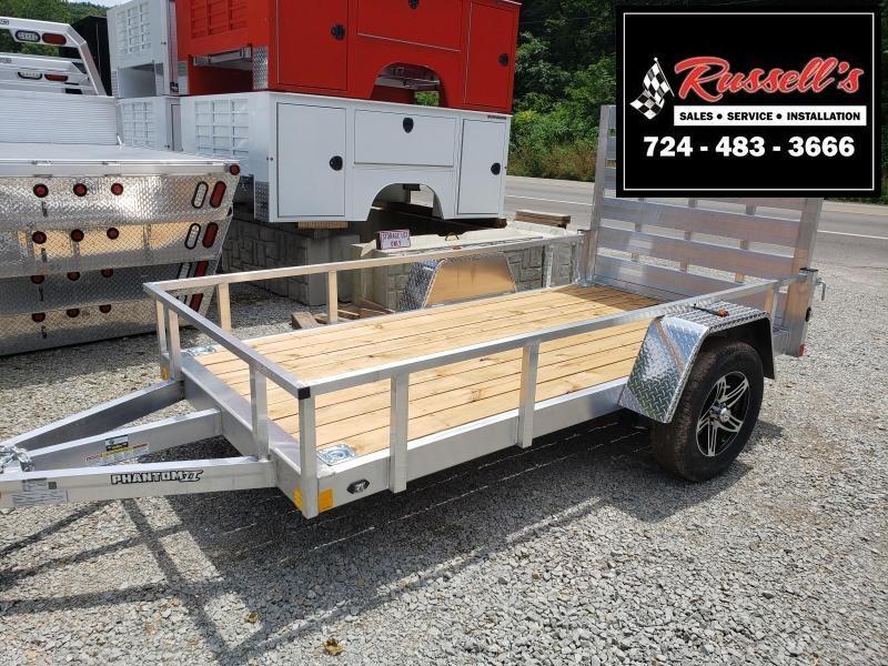 2020 Stealth Trailers 5x10 Phantom II Aluminum Utility Trailer