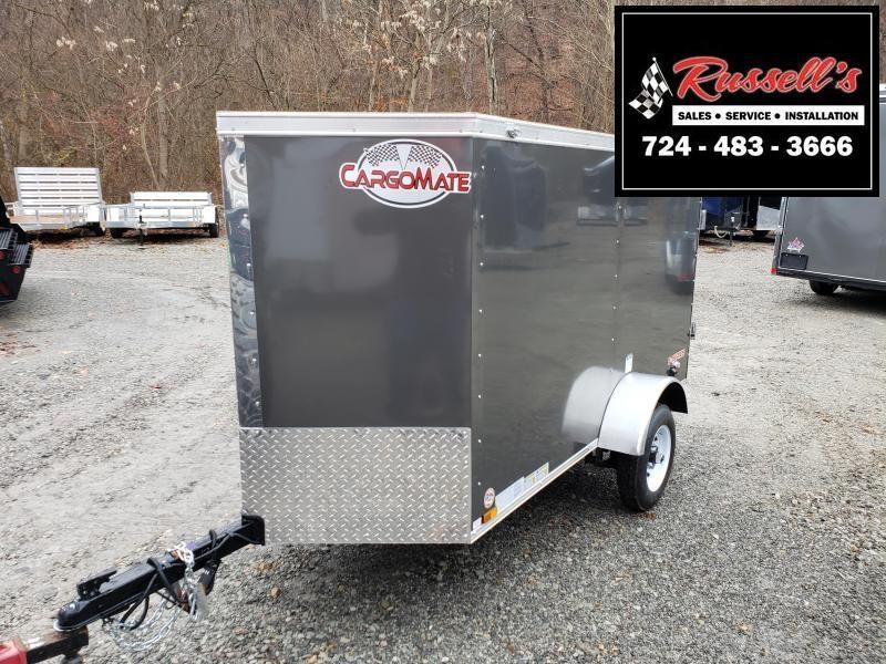 2020 Cargo Mate 4x8 E Series Barn Door Enclosed Cargo Trailer