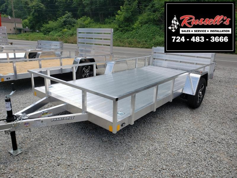 2020 Stealth Trailers 6.5x14 Phantom II Utility Trailer