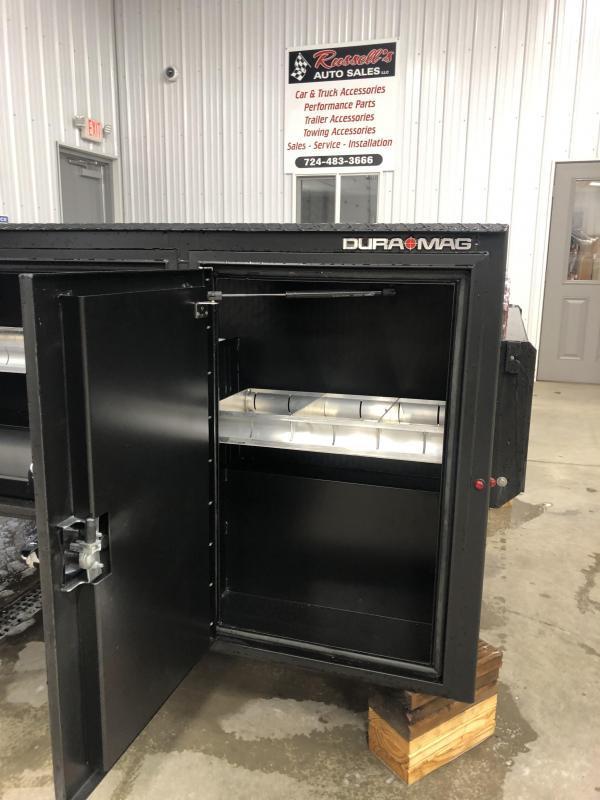 DuraMag S-Series Aluminum Service Body Black SRW