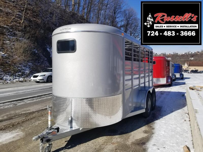 2019 Calico Trailers 16 X 6' X 7' Extra Height Livestock Trailer